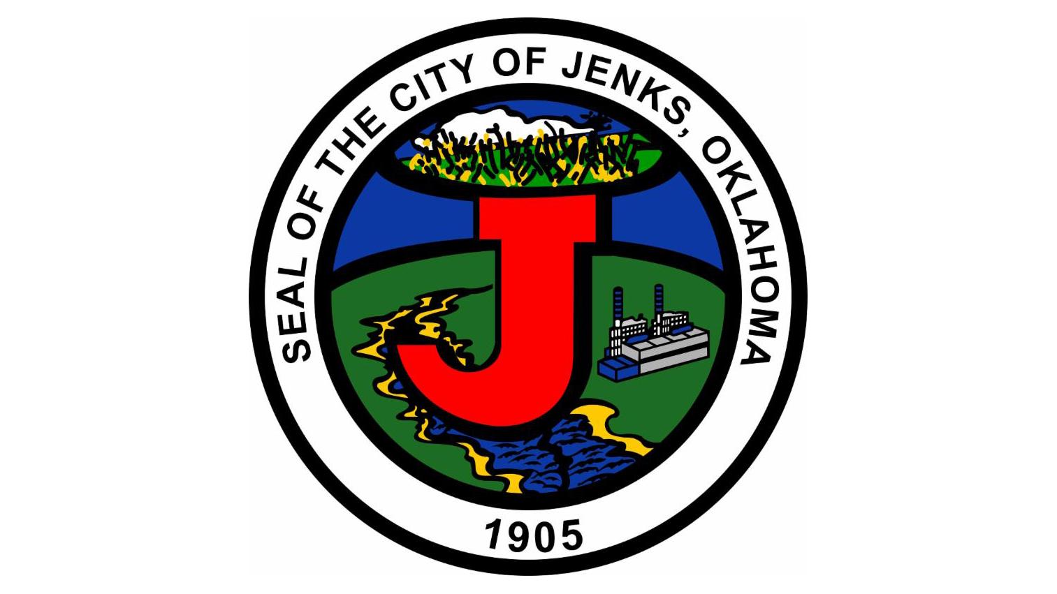 City seal for Jenks, Oklahoma