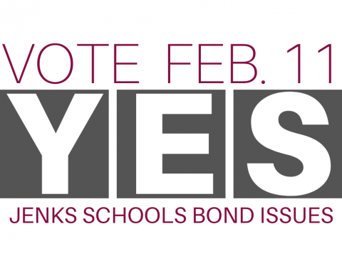 Graphic promoting the upcoming school bond on the ballot.