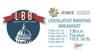 Graphic for the 2020 Legislative Breakfast series.