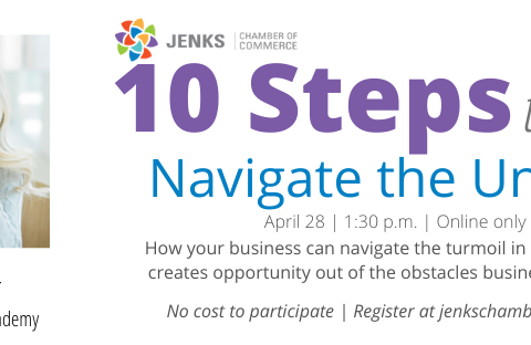 "A graphic for Heather Turner's ""10 Steps to Navigate the Unknown"""