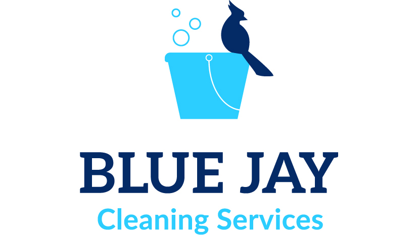 A graphic for Blue Jay Cleaning Services.