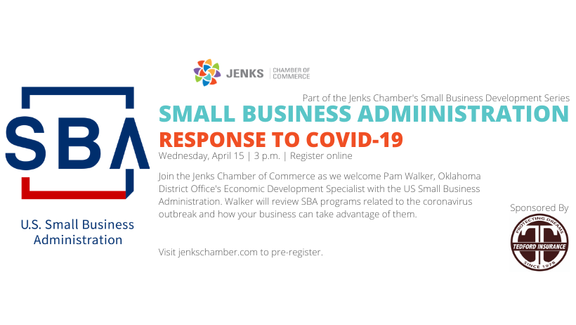 a graphic for the SBA webinar.
