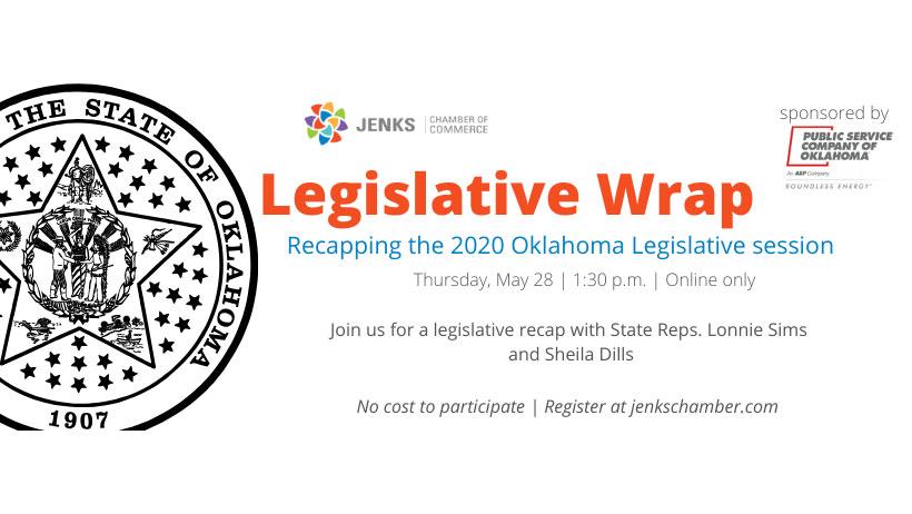 Legislative wrap up webinar.