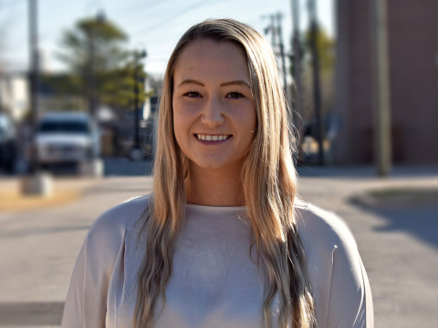 Brittany Beaudet, Intern of the Jenks Chamber of Commerce