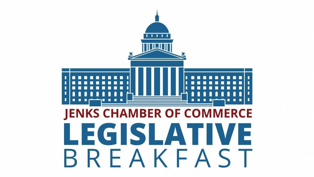 A graphic for the Legislative Breakfast Series.