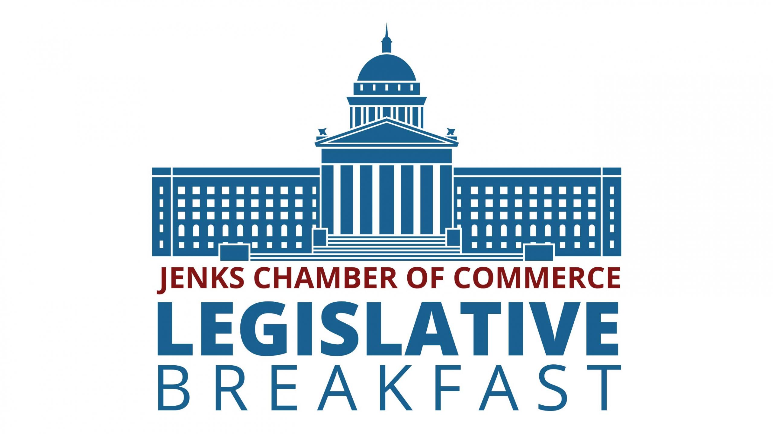 A graphic for the Legislative Breakfast Series.