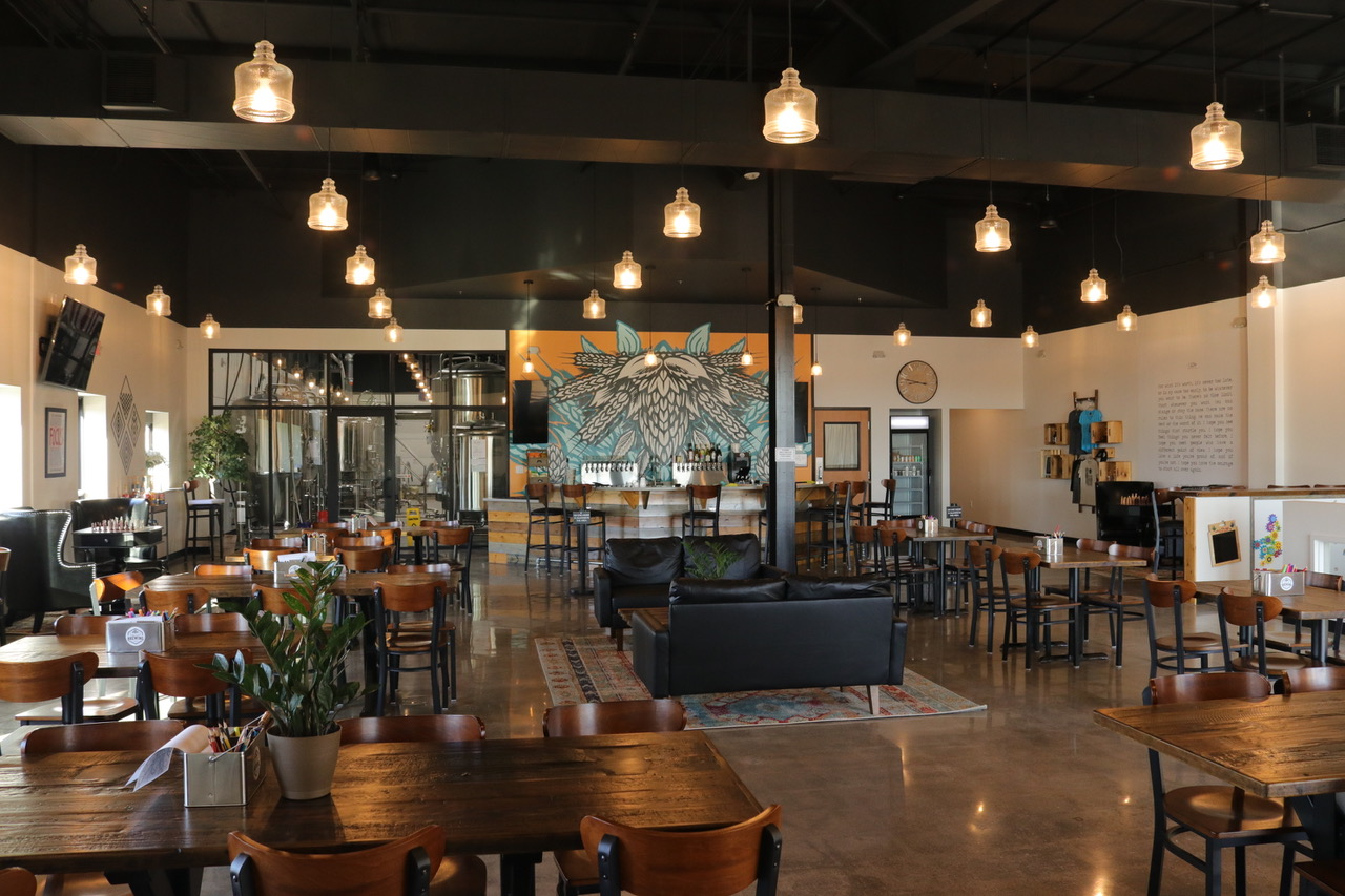 The Cape Brewing Company taproom