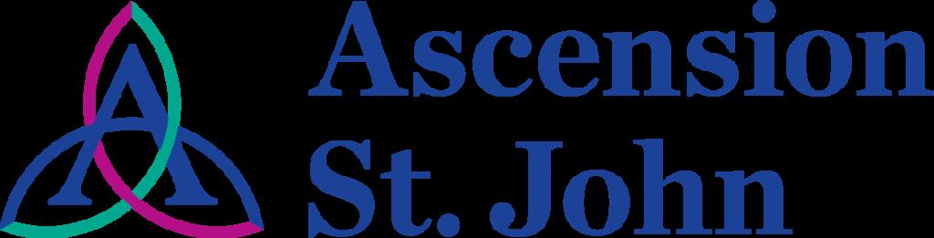 a logo for Ascension St. John