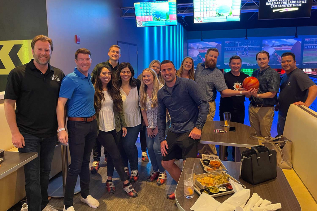 The EMERGE group at Main Event Tulsa