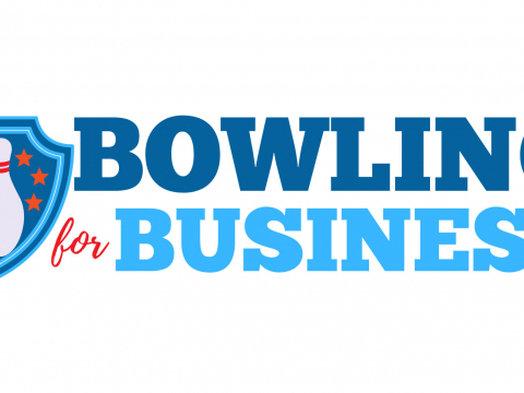 Logo for the Jenks Chamber's Bowling for Business.
