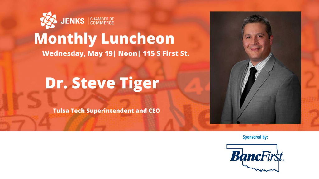 May Monthly Luncheon, featuring Dr. Steve Tiger.