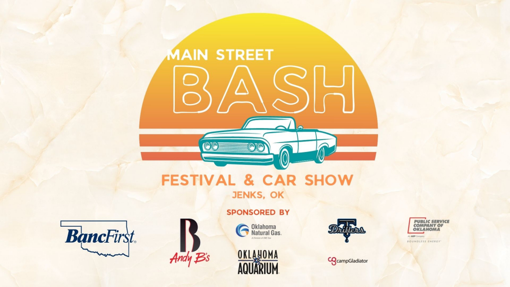 Main Street Bash Festival and Car Show graphic.